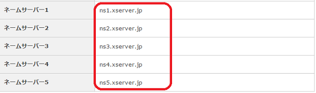 Xserver サーバーパネル6