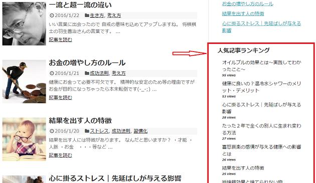 WordPress Popular Postsの設定100