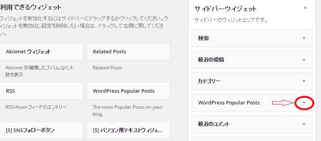 WordPress Popular Postsの設定13