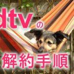 dTV(ディーティービー)ドコモの動画配信サービスの解約手順について解説